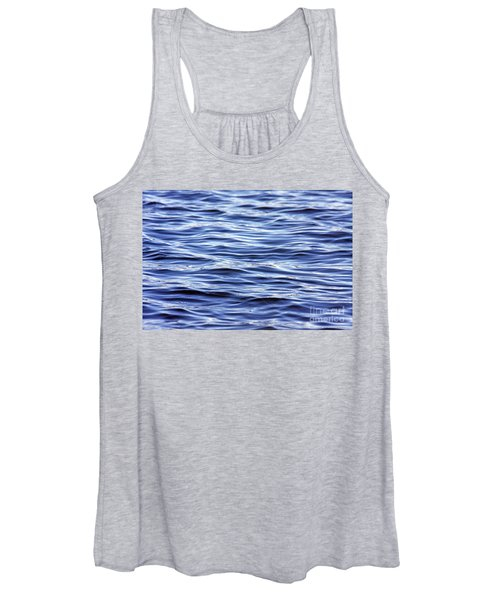 Scanning For Dolphins Women's Tank Top