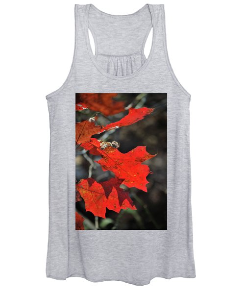 Scarlet Autumn Women's Tank Top