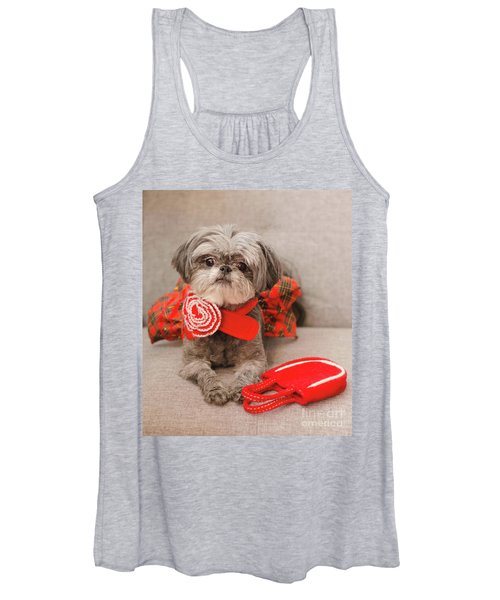 Scarlett And Red Purse Women's Tank Top