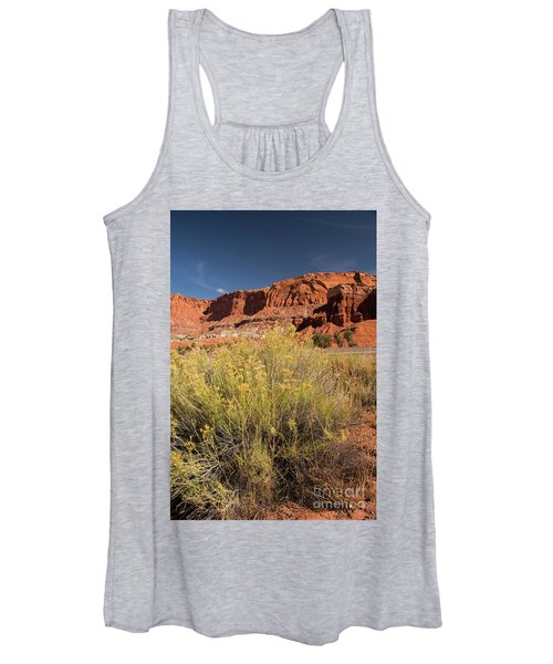 Scenery Capital Reef National Park Women's Tank Top