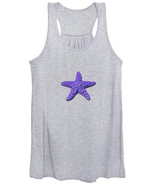 Sea Star Purple .png Women's Tank Top