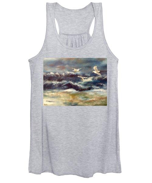 Seaside Serenade Women's Tank Top