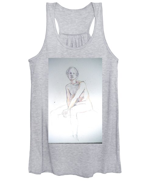 Seated Study 2 Women's Tank Top