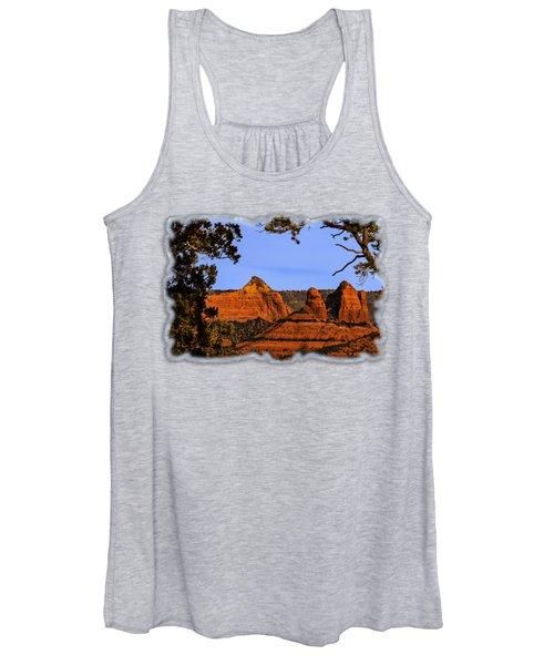 Sedona Red Rocks Women's Tank Top