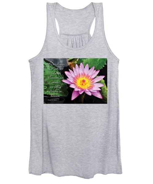 Seedlings Of God Women's Tank Top