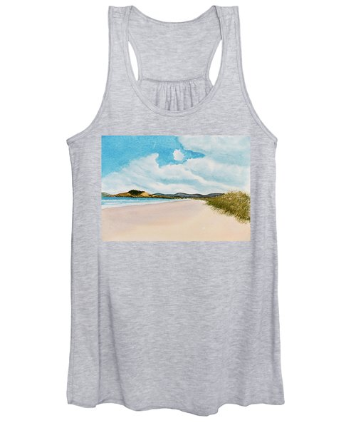 Seven Mile Beach On A Calm, Sunny Day Women's Tank Top