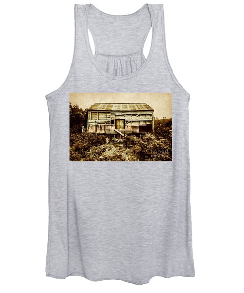Shabby Country Cottage Women's Tank Top
