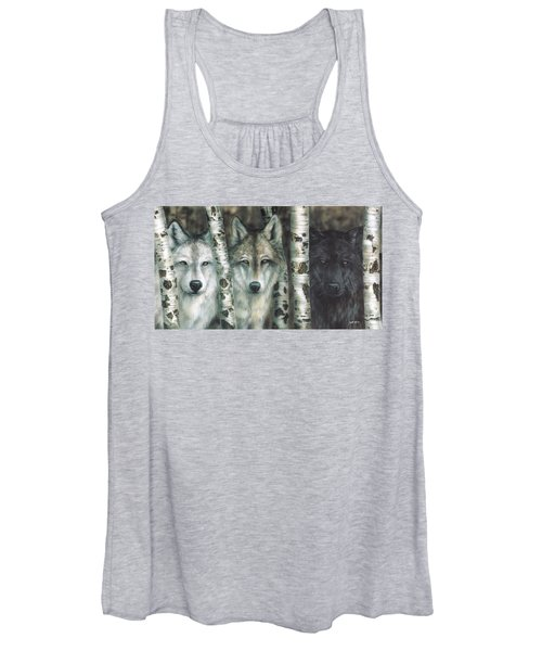 Shades Of Gray Women's Tank Top