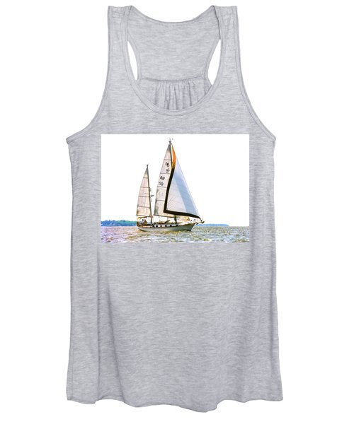 Shannon 38 Kittiwake On Chesapeake Bay Women's Tank Top