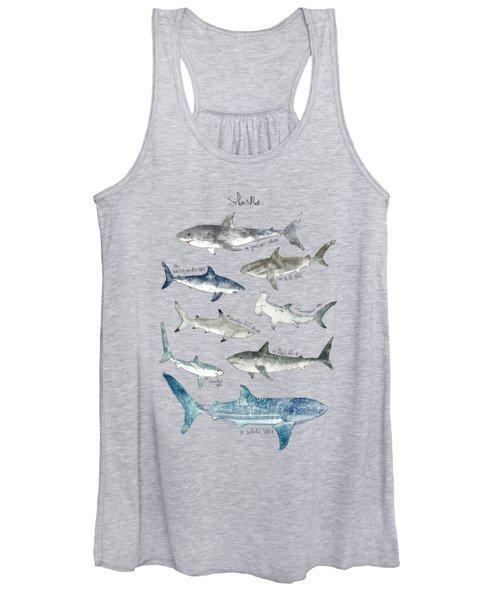 Sharks Women's Tank Top