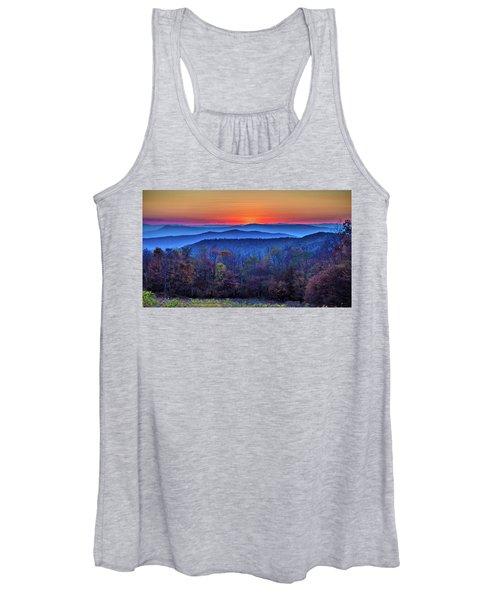 Shenandoah Valley Sunset Women's Tank Top