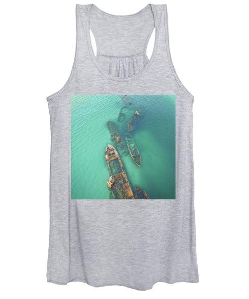 Shipwrecks Women's Tank Top