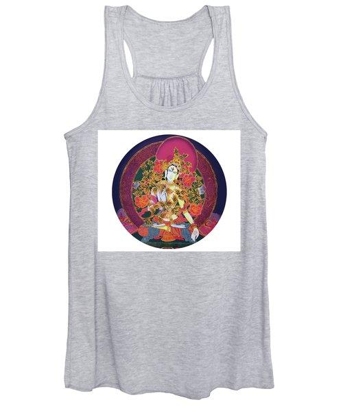 Shiva Shakti Yin And Yang Women's Tank Top