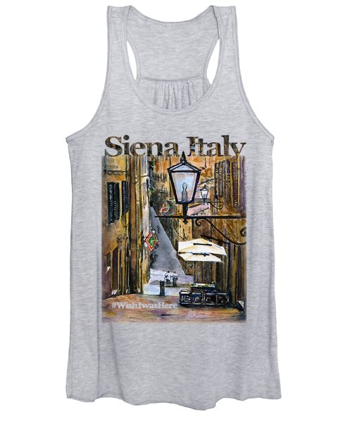Siena Italy Shirt Women's Tank Top
