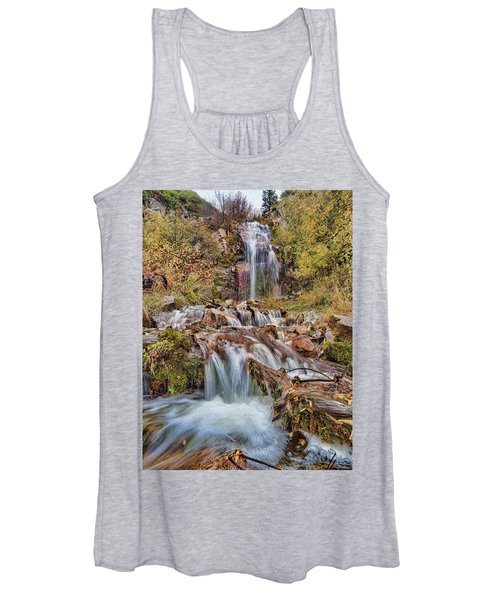 Sierra Waterfall Women's Tank Top