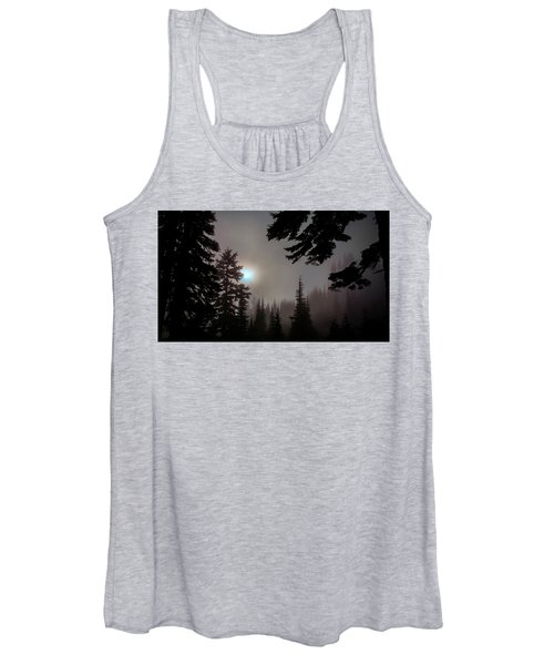 Silhouettes In The Mist 2008 Women's Tank Top