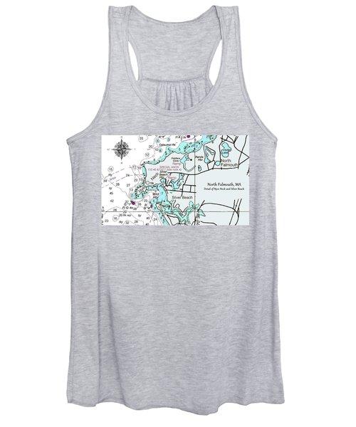 Silver Beach Women's Tank Top