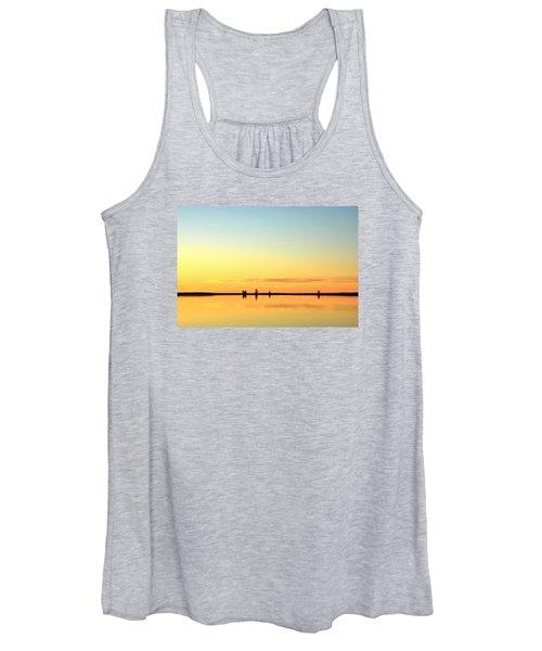 Simple Sunrise Women's Tank Top