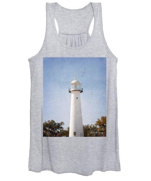 Simply Lighthouse Women's Tank Top