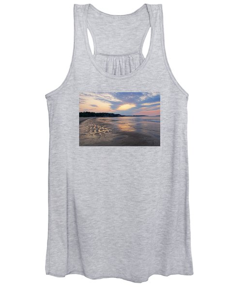 Singing Beach Sandy Beach Manchester By The Sea Ma Sunrise Women's Tank Top