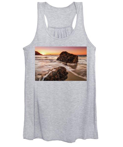 Singing Water, Singing Beach Women's Tank Top