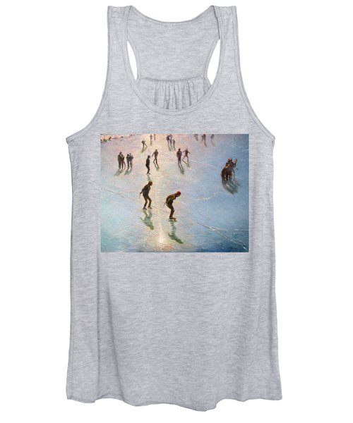 Skating In The Sunset  Women's Tank Top