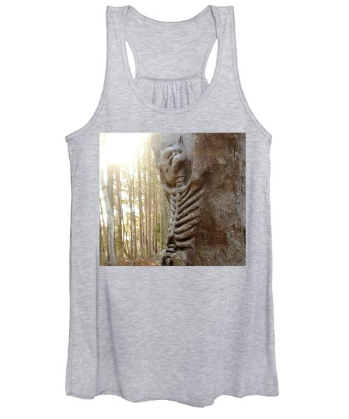 Skeleton Tree Women's Tank Top
