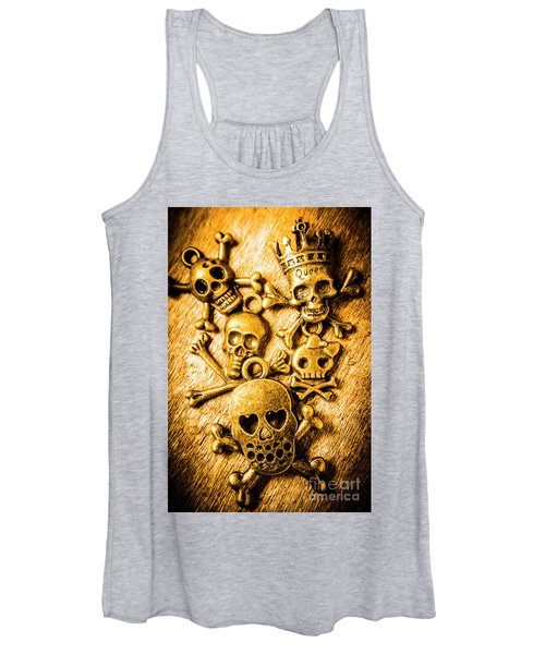 Skulls And Crossbones Women's Tank Top