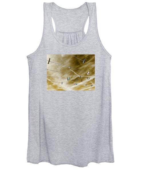 sky Women's Tank Top