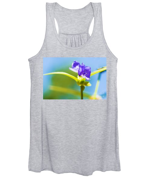 Sky Flowers Women's Tank Top