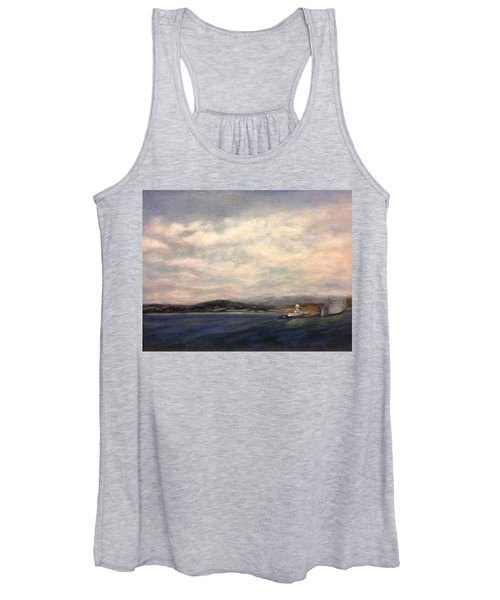 The Port Of Everett From Howarth Park Women's Tank Top
