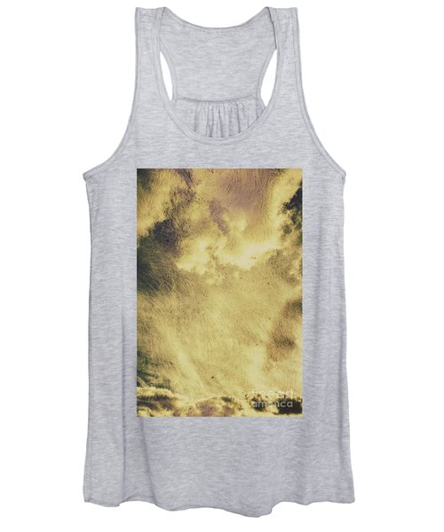 Sky Texture Background Women's Tank Top