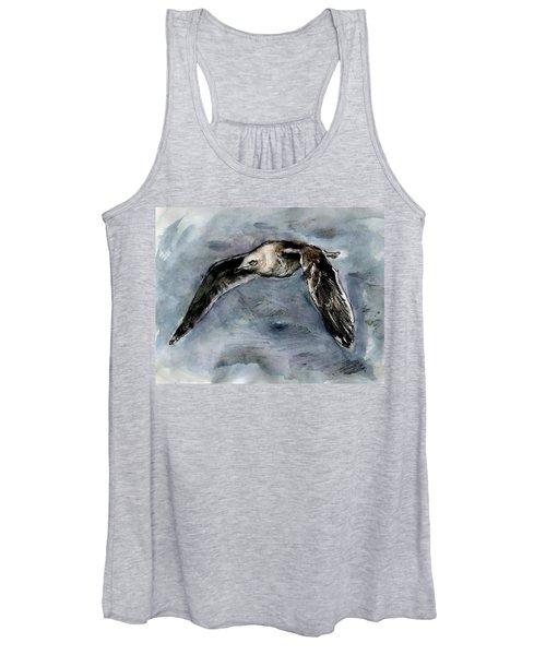 Slaty-backed Gull Women's Tank Top