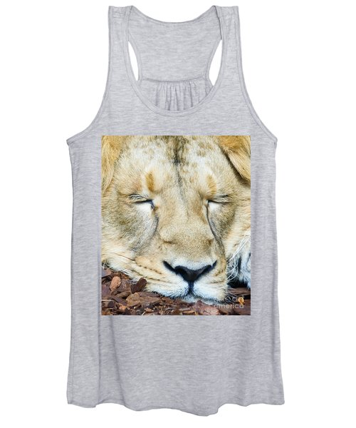 Sleeping Lion Women's Tank Top