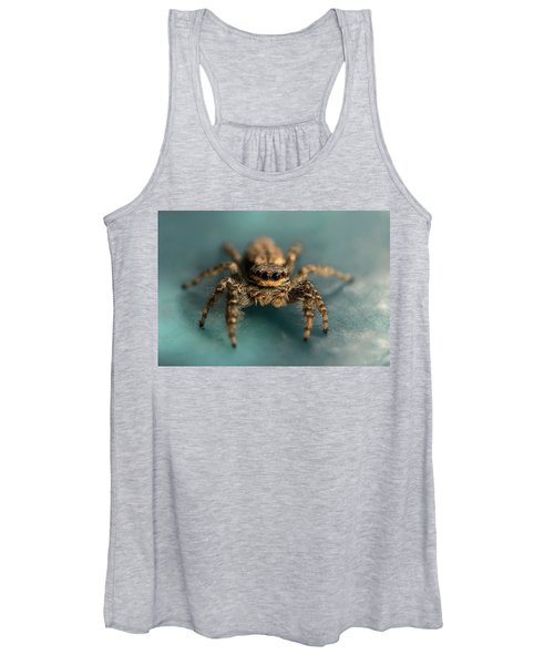 Small Jumping Spider Women's Tank Top
