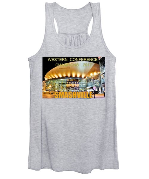 Smashville Western Conference Champions 2017 Women's Tank Top