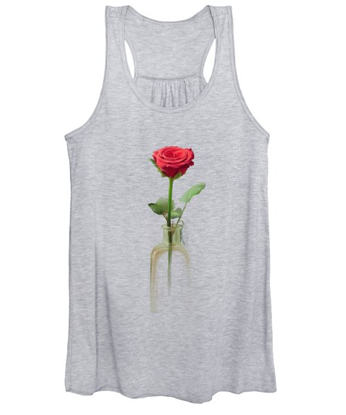 Smell The Rose Women's Tank Top