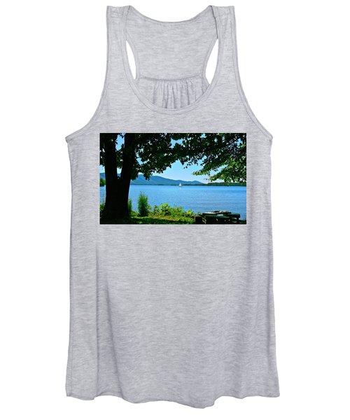 Smith Mountain Lake Sailor Women's Tank Top