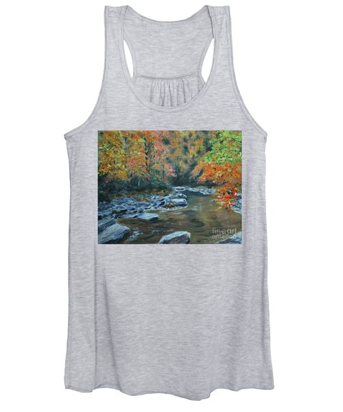 Smokey Mountain Autumn Women's Tank Top
