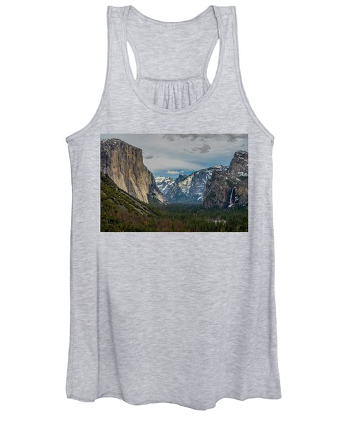 Smokey Yosemite Valley Women's Tank Top