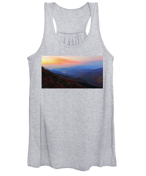 Dawn From Standing Indian Mountain Women's Tank Top