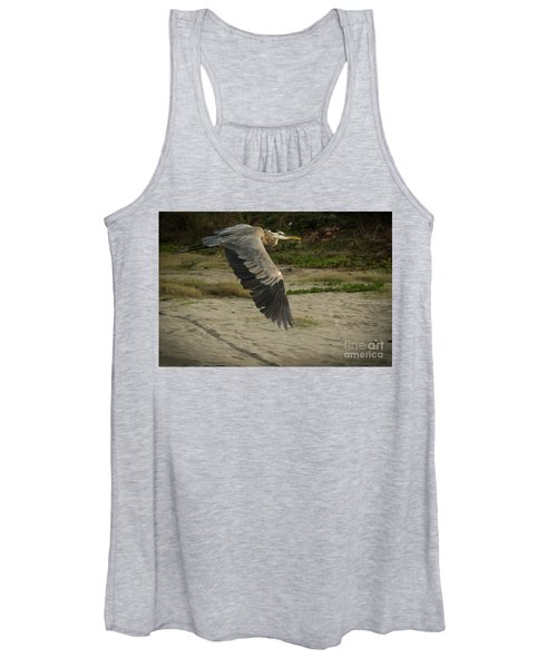 Smooth Sailing Wildlife Art By Kaylyn Franks Women's Tank Top