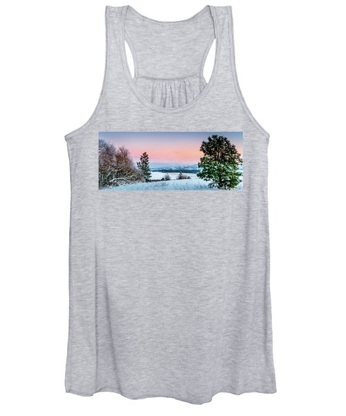 Snow Covered Valley Women's Tank Top
