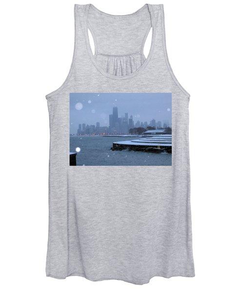 Snowy Chicago Women's Tank Top