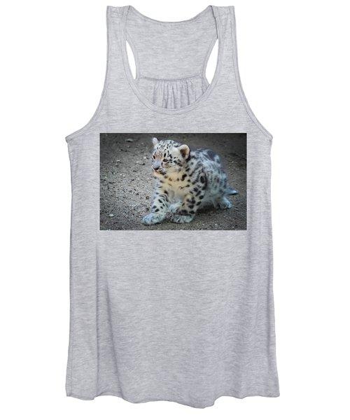 Snow Leopard Cub Women's Tank Top