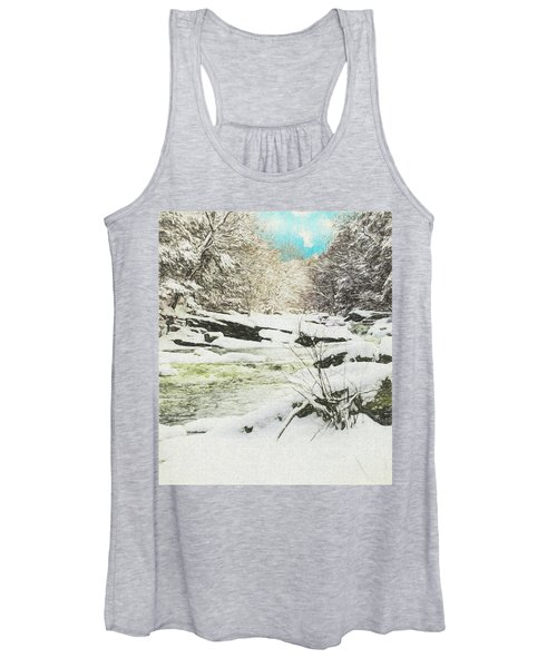 Snow On The Natchaug Women's Tank Top
