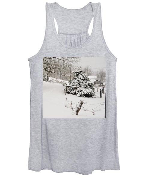 Snow Tree Women's Tank Top