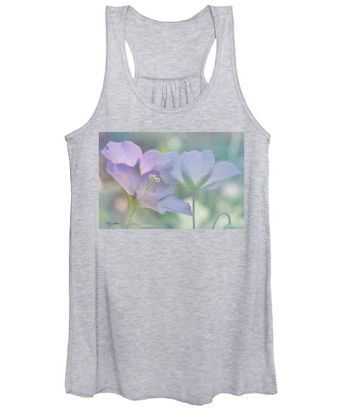 Soft Blue Women's Tank Top