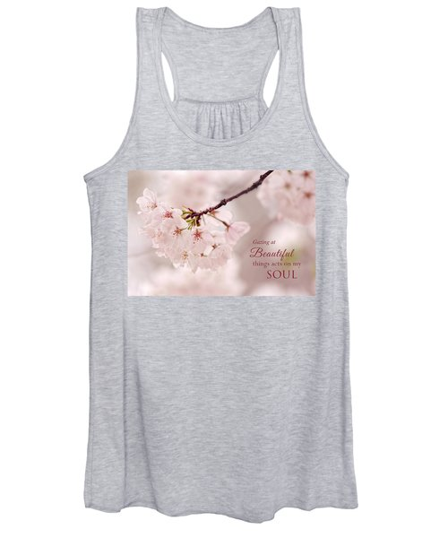 Soft Medley With Message Women's Tank Top
