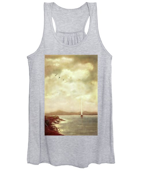 Solitary Sailor Women's Tank Top